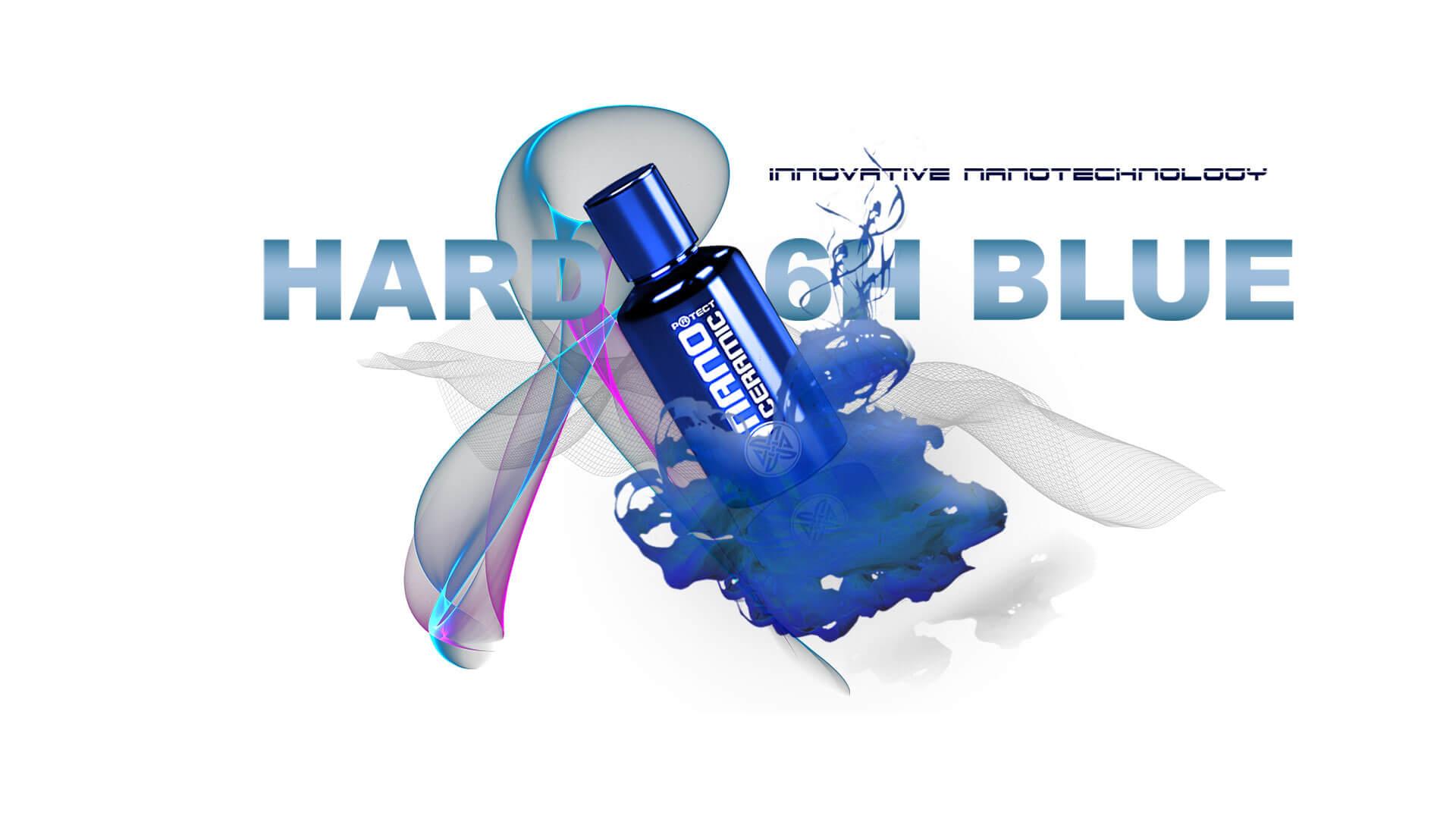 Nano Ceramic Protect Hard 6H Blau