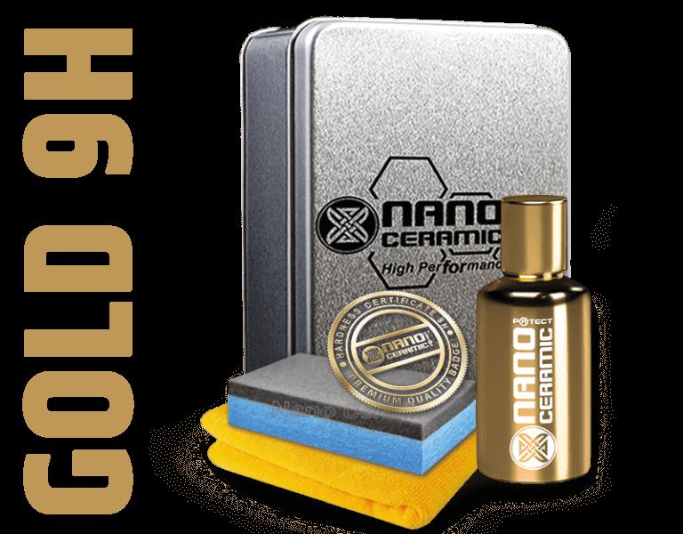 Nano Ceramic Protect Keramikversiegelung 9H Gold