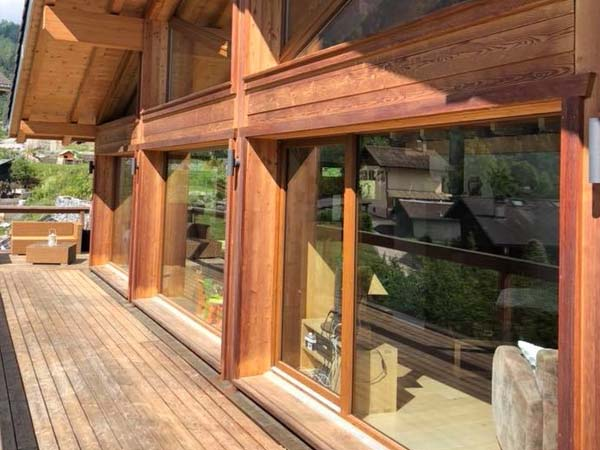 NCP9H Rot - Glas, Holz