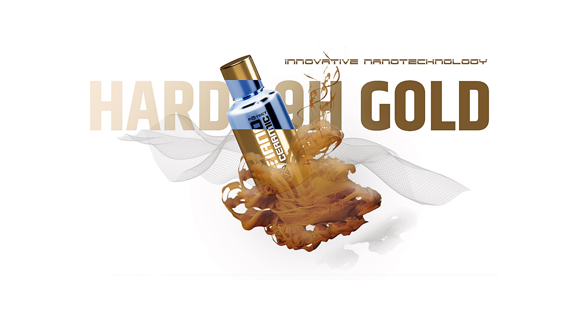 Nano Ceramic Protect Hard 9H Gold
